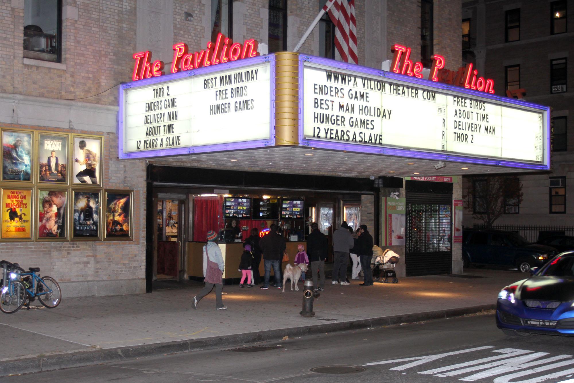 Pavilion movie theatres