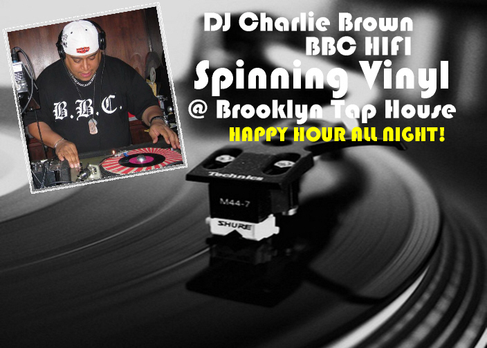 dj charlie brown at tap house